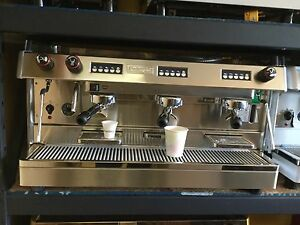 new 3 Group Espresso expresso Machine Tall Cup Model great For A Cafe Or Baker