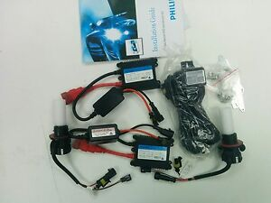 2 Philips Hid Xenon Conversion Kit 35w Bulbs H13 2 Philips Ballasts D2sr 35w