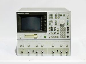 Hp 4195a Network Spectrum Analyzer 10hz To 500mhz With Cables And Option 01