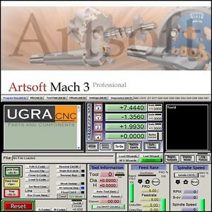 Mach3 Cnc Software For Cnc Router Mill Lathe Personalized License