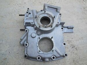 Porsche 356 T1 Cabriolet Engine Case Third Piece 1956