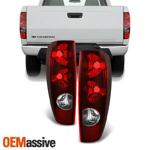Fit 04 12 Chevy Colorado gmc Canyon Red Tail Lights L r Replacement