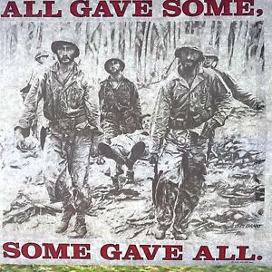 All Gave Some Army Soldier Vintage Air Waves T Shirt Iron On Heat Transfer Sheet