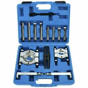 14pcs Bearing Separator Puller Set 2 3 Splitters Remover And Bearing Kit