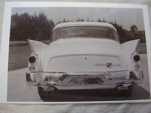 1957 Studebaker Golden Hawk Rear View 11 X 17 Photo Picture