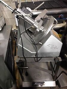 Bizerba Se 12 Manual Food Meat Cheese Deli Slicer 562
