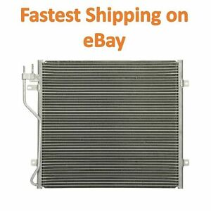 New A c Condenser 3058 Fits 2002 2005 Jeep Liberty 2 4 L4 3 7 V6