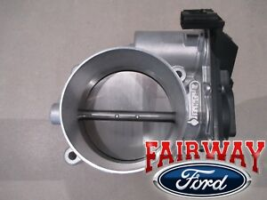11 Thru 14 Mustang Gt Oem Genuine Ford Throttle Body W Tps Sensor 5 0l V8 New