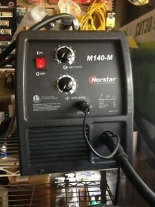 New Norstar M140 m Premium Mig Welding Machine Gmaw Autobody Work Fabrication