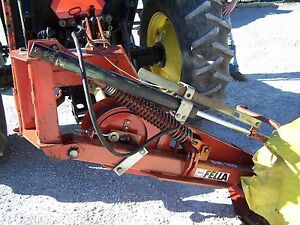 Used Fella Sm 165 5 5 Ft Disc Mower Can Ship 1 85 Per Mile