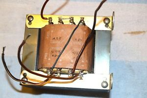 Stancor P 8619 Control Transformer 24 48 Vac 4 8 Amp Fully Tested