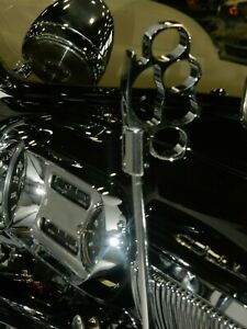 Chrome Knuckle Shift Knob 70652 Hot Rod Customs Motorcycles