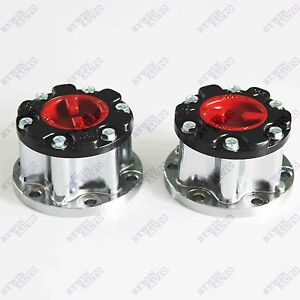 New Manual Wheel Locking Hub For Toyota T100 Pick Up Truck 4runner Hilux 2 Pcs