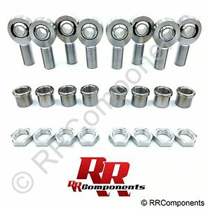 1 1 4 X 1 Bore Chromoly 4 link Rod Ends Kit Heim Joints fits 1 5 Id Tube Bb