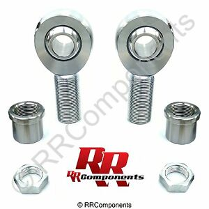 1 1 4 X 1 Bore Chromoly Panhard Rod Ends Kit Heim Joints fits 1 5 Id Tube bb