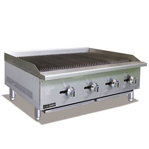 Commercial 48 Gas Radiant Charbroiler Nat Or Lp