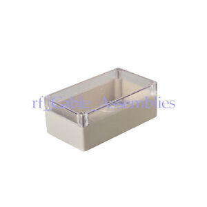 5pcs 158 90 60mm Waterproof Clear Cover Plastic Electronic Project Box Enclosure