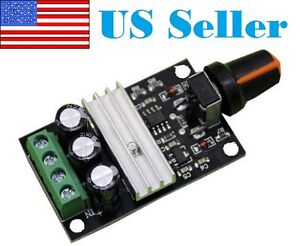 New 6v 12v 24v 28v 3a Pwm Dc Motor Speed Controller Module Switch Control 1203b