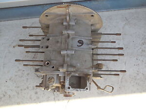 Porsche 356 58 70271 Engine Case With Third Piece matching type 616 1 C 9