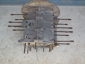 Porsche 356 Engine Case Type 1600 S Date Stamped 10 58 no Third Piece C 2