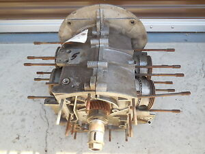 Porsche 356 S90 Engine Case type 616 7 date Stamped 61 no Third Piece C 5