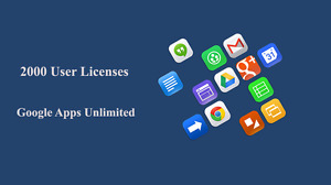 Domain Name With 2000 Users For Google Apps Unlimited