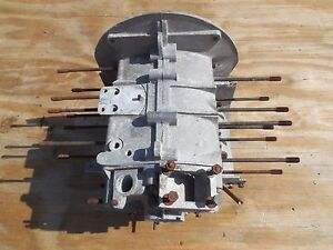 Porsche 356 B 1960 Engine Case With Matching Numbers 602700 Type 616 1