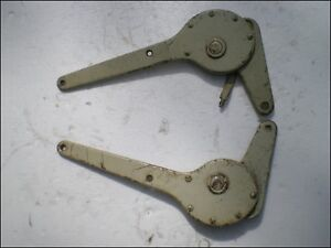 Porsche 356 Early Seat Hinges Driver s Side