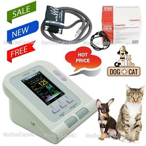 Oled Digital Veterinary Blood Pressure Monitor Nibp Cuff dog cat pets us Seller