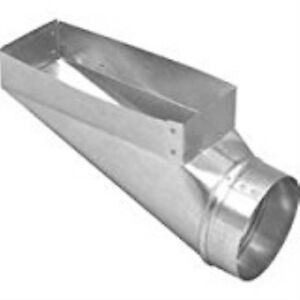 Duct End Boot 3 1 4 X 10 X 4in
