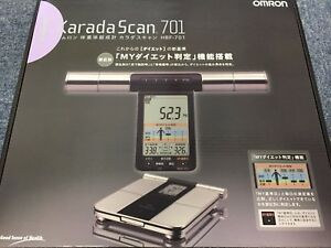 Omron Weight Scale Body Composition Meter Karada Scan 701 Hbf 701 Japan