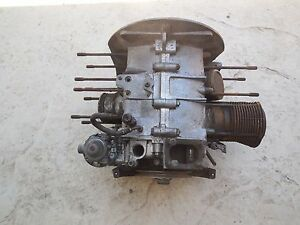 Porsche 356 Engine Case 603901 Type 616 1 With Matching Numbers 1960 Fl
