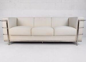 Contemporary Modern Corbusier Style Sofa 1788 Jr