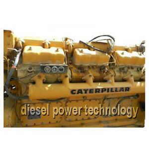 Caterpillar D398 Remanufactured Diesel Engine Extended Long Block Engine