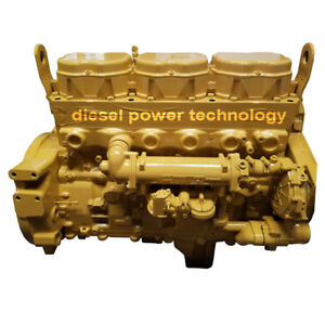 Caterpillar 3176 Remanufactured Diesel Engine Extended Long Block Engine