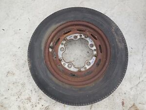 Porsche 356 Original Kpz Steel Wheel Fl 9 Date Stamped 3 58 4 1 2 J X 15