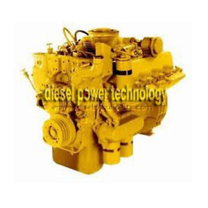Caterpillar 3208t Remanufactured Diesel Engine Extended Long Block
