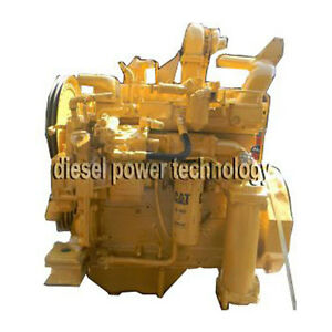 Caterpillar 3304pc Remanufactured Diesel Engine Extended Long Block Engine
