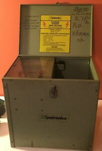 Hipotronics Oc60a Portable Oil Dielectric Tester 60kv 3 Test Cells Included
