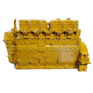 Caterpillar Model 3406b Remanufactured Diesel Engine Extended Long Block Engine