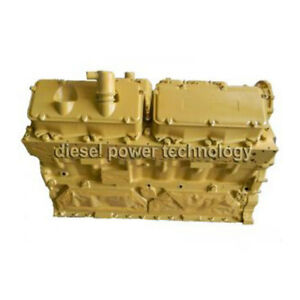 Caterpillar 3412e Remanufactured Diesel Engine Extended Long Block Engine