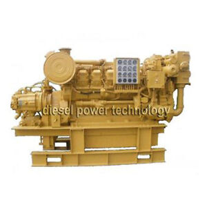 Caterpillar 3512 Remanufactured Diesel Engine Extended Long Block Engine