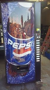 Royal Vendors Pepsi Cola Vending Machine 768 10 Melin Iv Refurb 12 16