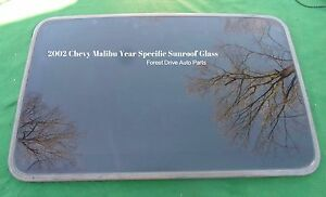 2002 Chevrolet Malibu Oem Factory Year Specific Sunroof Glass Free Shipping