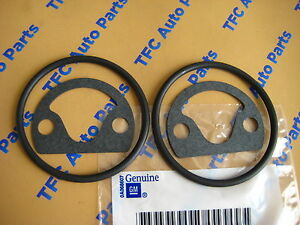 2 Chevy Gmc 4 3 Engine Oil Filter Adapter Gasket Kit Oem Genuine Gm New