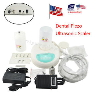 Us Dental Piezo Ultrasonic Scaler Cavitron Self Contained Water Dentist Easy Use