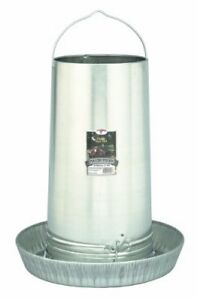 Little Giant17 Inch Galvanized Hanging Poultry Feeder Tubes 914273
