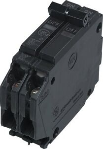 General Electric Thqp220 Thin Series 2 pole 20 amp Circuit Breaker