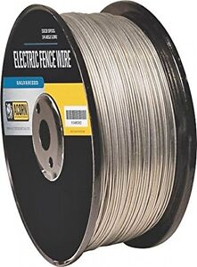 Acorn International Efw1912 1 2 mile 19 gauge Galvanized Fence Wire
