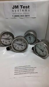 4 Dial Wika Us Gauge Mcdaniel 10 Gauge Bundle As Is Itl